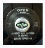 "45Re✦ EUGENE JEFFERSON✦ ""A Pretty Girl Dressed In Brown"" Great Mover. Hear♫"
